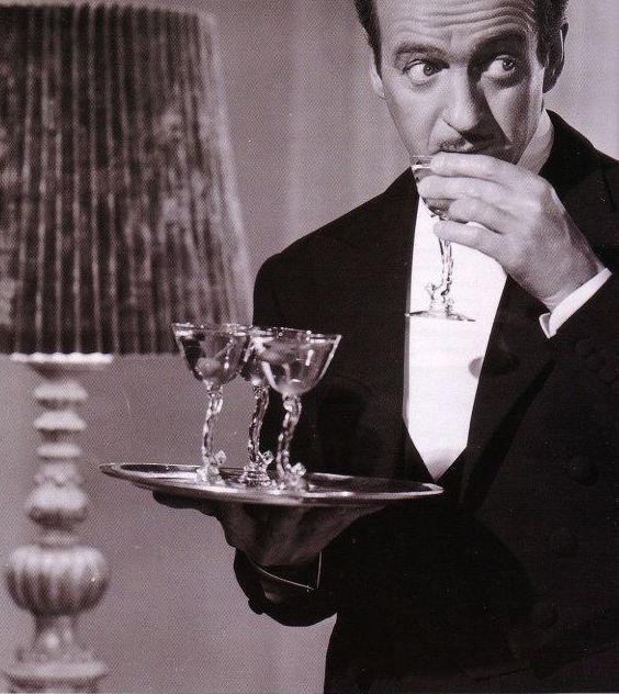 Three Martini for David Niven