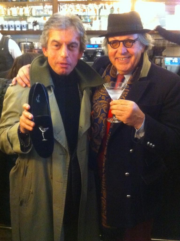 """Tony Micelotta in una """"apparizione"""" da Gamberini a Bologna ospite di Celestino Salmi"""